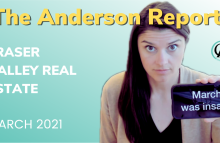 The Anderson Report:   March 2021